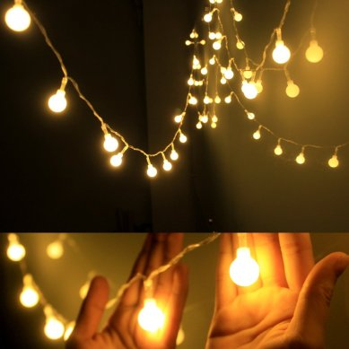 DailyArt Globe String Light