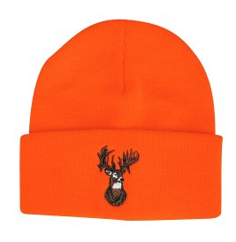 Outdoor Cap Beanie Blaze with Deer - Orange