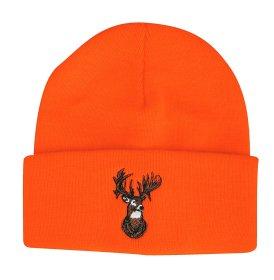 Outdoor Cap Beanie Blaze with Deer - Orange